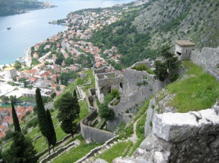 Kotor - Fortress Hike (2)